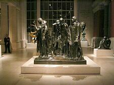 i didn't realize that there was more than one cast of Rodin's 'Burghers of Calais' other than the one in Paris at the Rodin Museum.  actually i see there are several more.