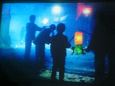 children and lanterns from The Blue Kite